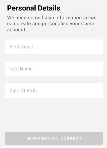 Wprowadź dane osobowe